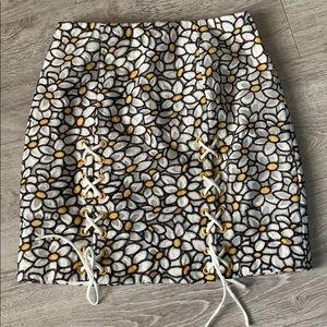Daisy mini skirt